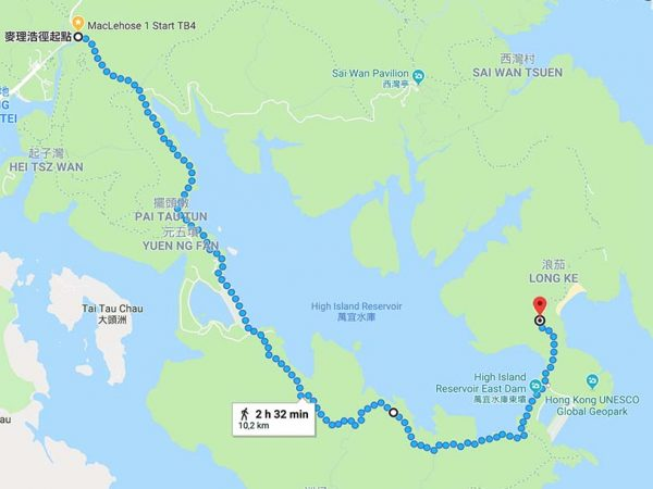 Maclehose Trail Section 1