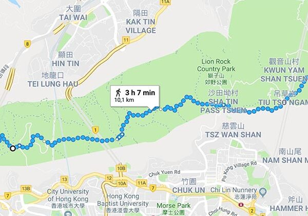 Maclehose Trail Section 5